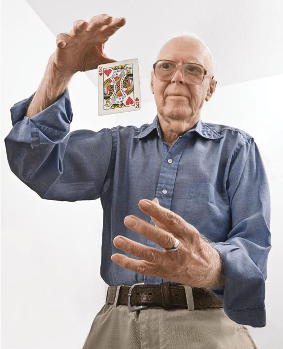 Martin Gardner Magic Trick